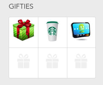 Gifties Starbucks