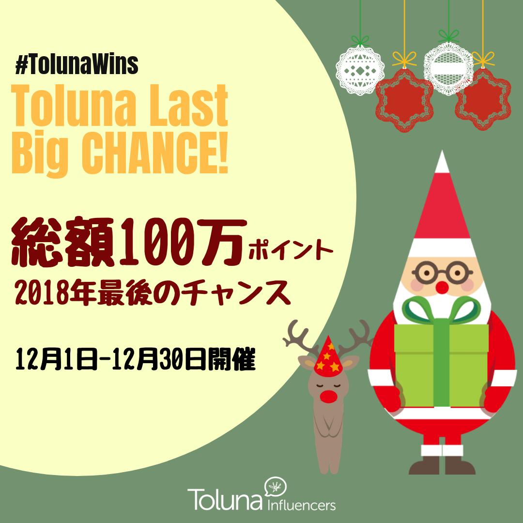 2018 Toluna Last Big Chance2