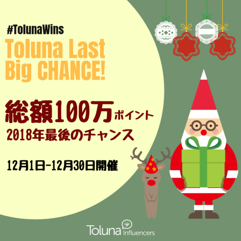 2018 Toluna Last Big Chance2